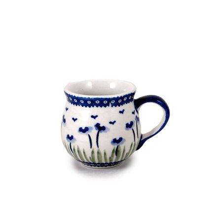 Blue Poppies Bubble Mug - Sm