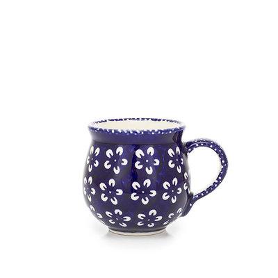 Blue Blossom Bubble Mug - Sm