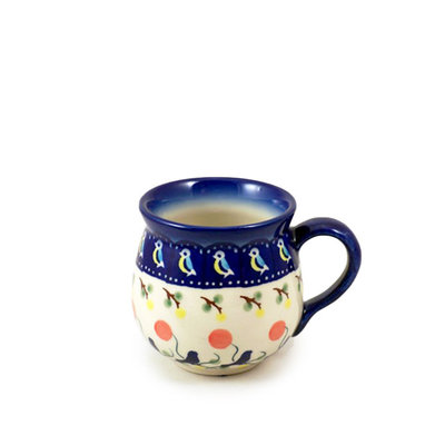 Blue Bird Bubble Mug - Sm