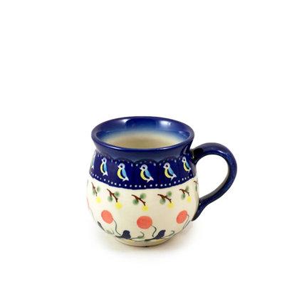 Blue Bird Bubble Mug - Sm