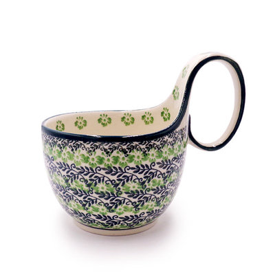 Irish Meadow Loop Handled Soup Cup