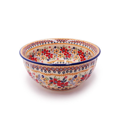 Posies F21 Fluted Serving Bowl