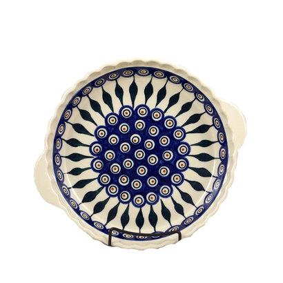 Peacock Pie Plate