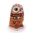 Candy Corn Illuminated Owl