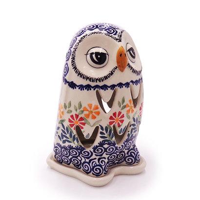 Marigolds Illuminated Owl