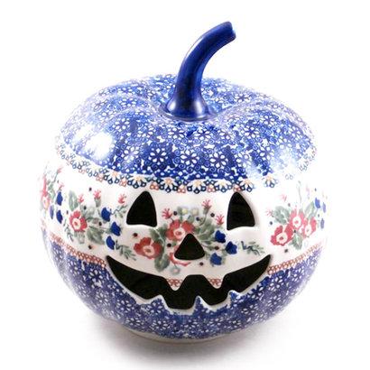 Lidia Pumpkin Lantern - Lrg