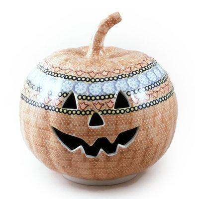 Ginger Pumpkin Lantern - Lrg