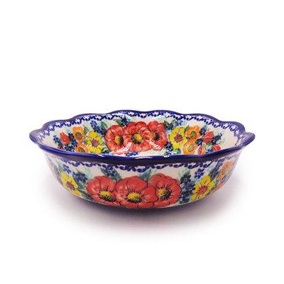 Kalich Bold Blossom Shallow Bowl