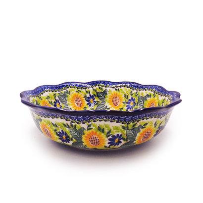 Kalich Sunflower Shallow Bowl