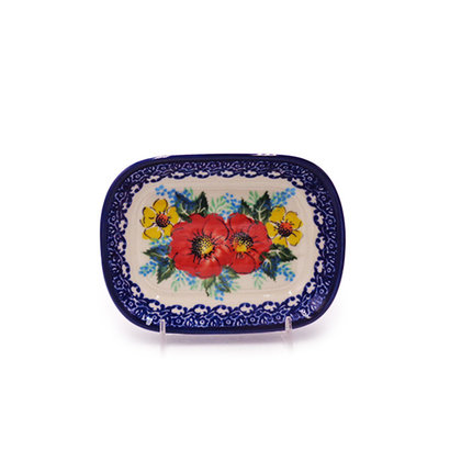 Kalich Bold Blossoms Butter Plate