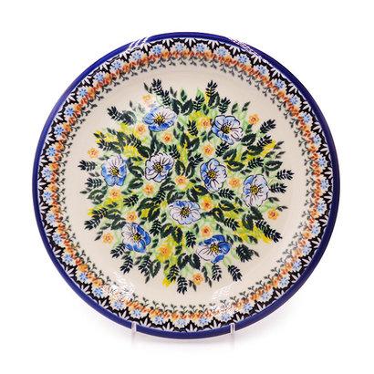 Kalich Ferns & Flowers Dinner Plate