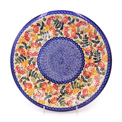 Kalich Fall Pallat Dinner Plate