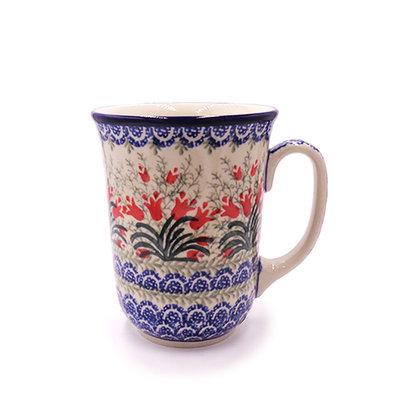C.A. Crimson Bells Bistro Mug