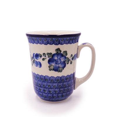 C.A. Blue Poppy Bistro Mug