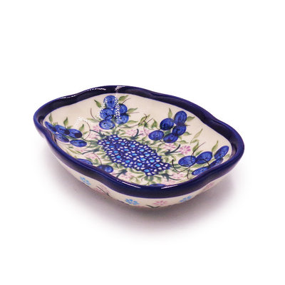 Kalich Blue Berries Soap Dish