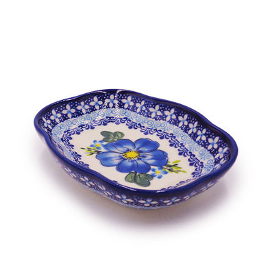 Kalich Blue on Blue Soap Dish
