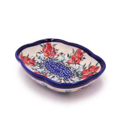 Kalich Red Berries Soap Dish