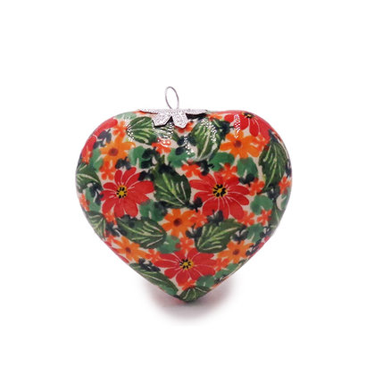 Kalich Primrose Heart Ornament