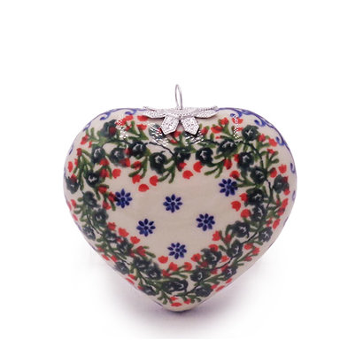 Kalich Holly Heart Ornament