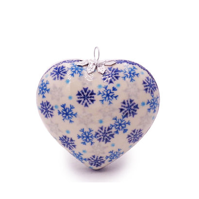 Kalich Let it Snow Heart Ornament