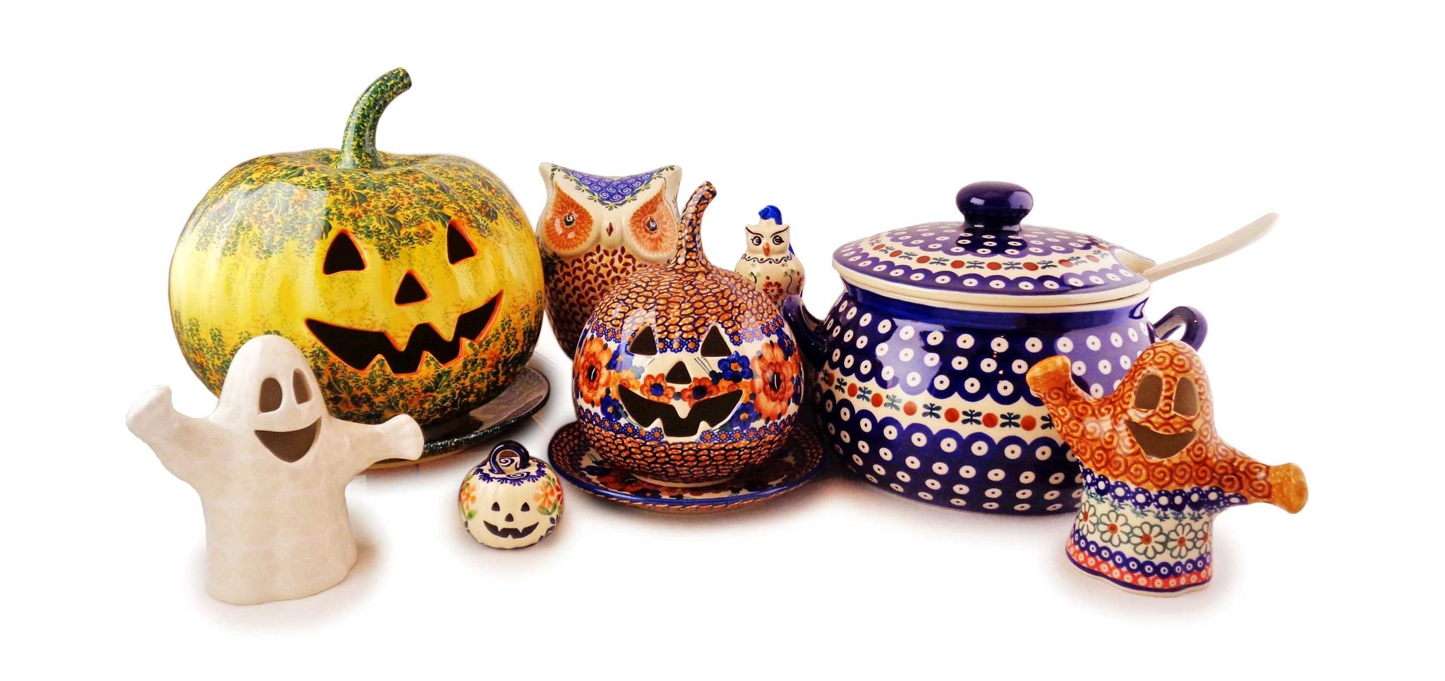 Decorate Your Home With Fall Polish Pottery Patterns