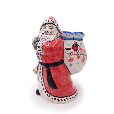 Cardinal Santa w/ Bag