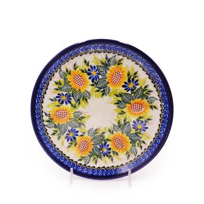 Sunflower Dessert Plate 19