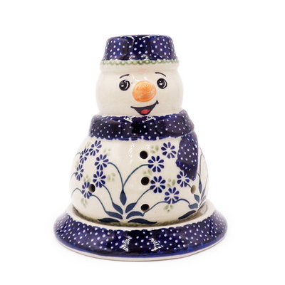 Forget Me Nots Illuminated Snowman