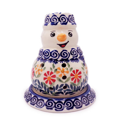 Marigolds Illuminated Snowman