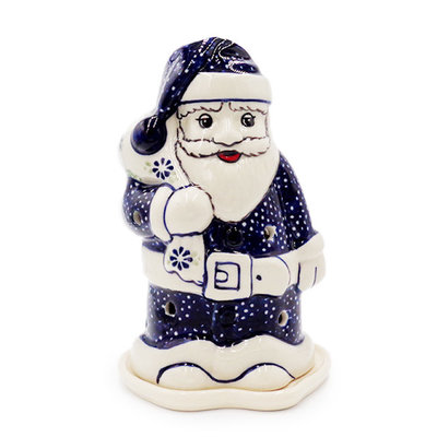 Forget Me Nots Illuminated Santa