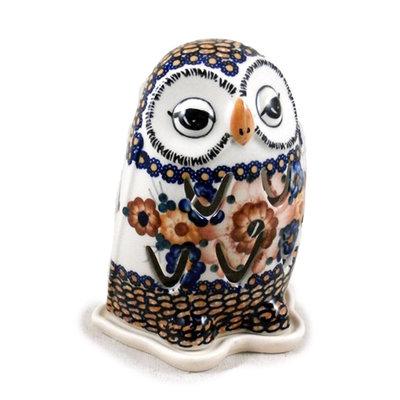 Harvest Basket Illuminated Owl