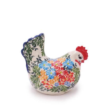 Ruffled Rouse Fancy Hen