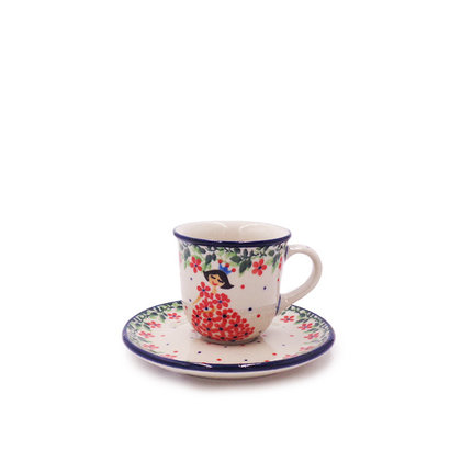 Justa Fairytale Espresso Cup and Saucer