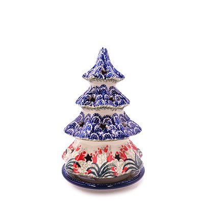 "CA Crimson Bells 7"" Tree Luminary"