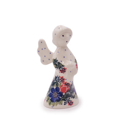Spring Viola Angel Figurine