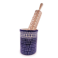 Embossed Wooden Rolling Pins - Large