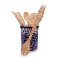Embossed Wooden Spoons & Crepe Spatulas