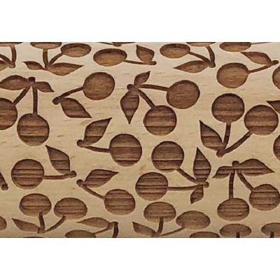 Cherry Pie Embossed Rolling Pin