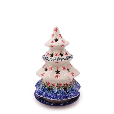 """Cherries JubileeChristmas Tree Luminary 7"""""""