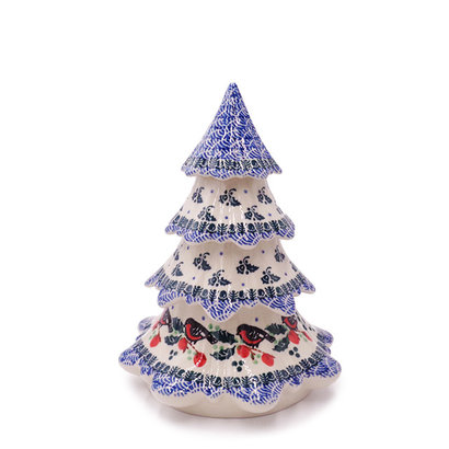 Snow Bird Christmas Tree 7 1/2""