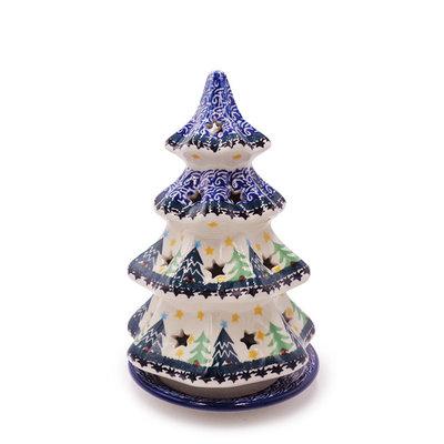 "Christmas Trees Christmas Tree Luminary 8"""