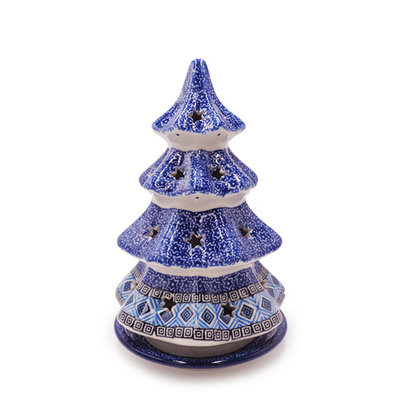 """Aztec Sky Christmas Tree Luminary 8"""""""