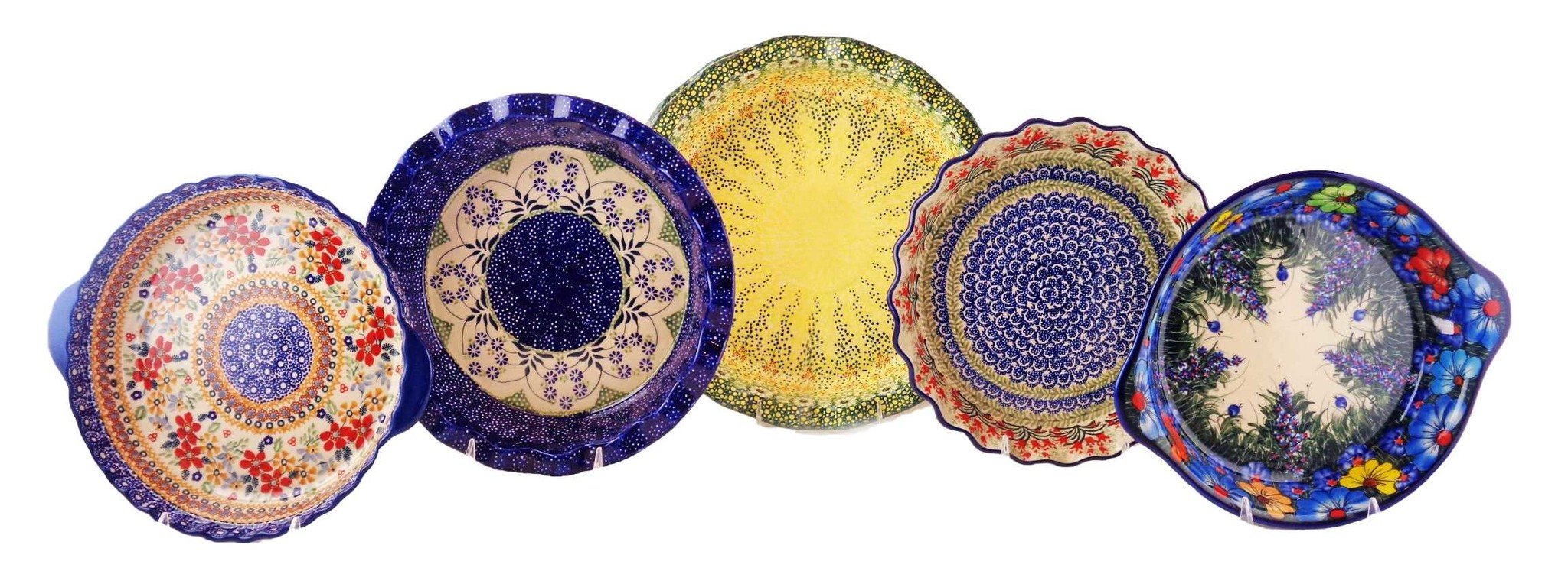 Serve Your Thanksgiving Pumpkin Pie In Our Best Selling Polish Pottery Pie Plates