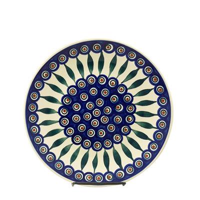 Peacock Dinner Plate 26