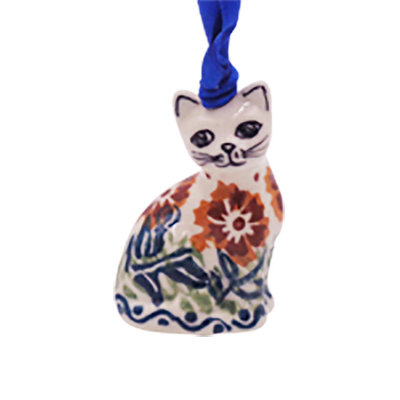 Tuscany Cat Ornament