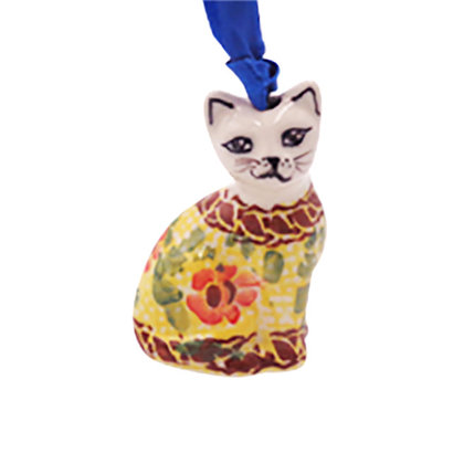 Rose Marie Cat Ornament