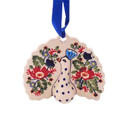 Lidia Peacock Ornament
