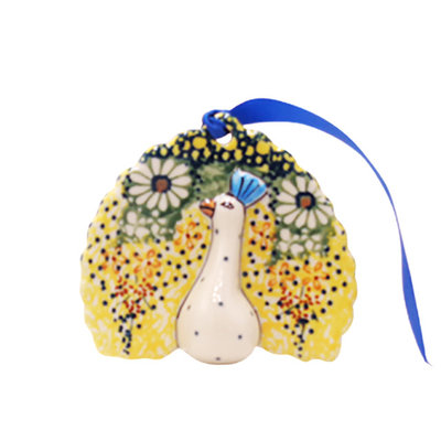 Roksana Peacock Ornament