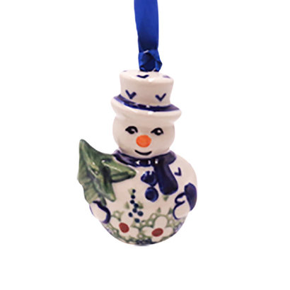 Daisy Jane Snowman Ornament