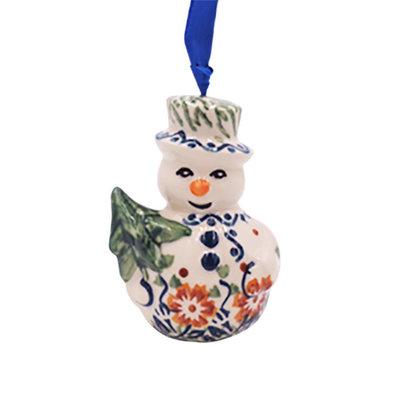 Tuscany Snowman Ornament